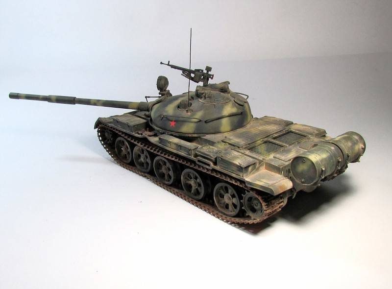 T-62a tamiya 1:35 andrej dedin