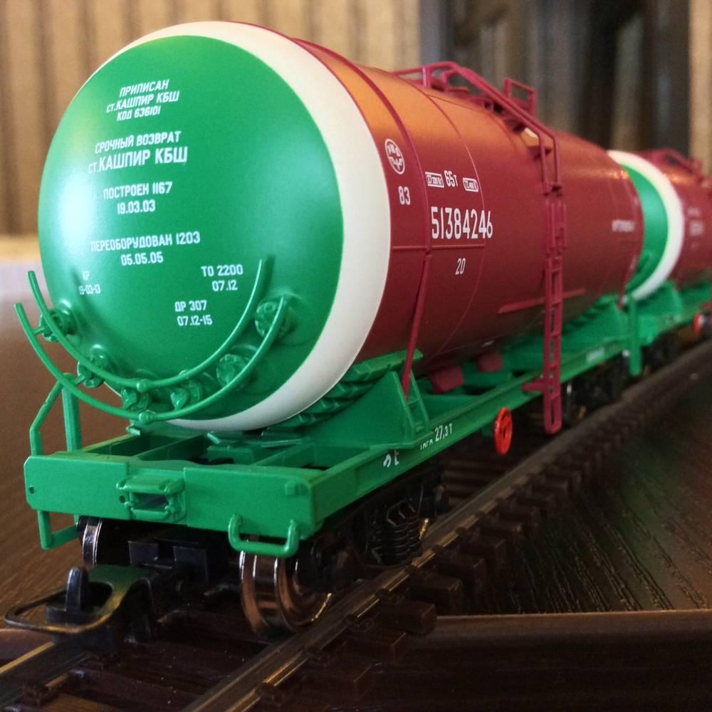 Схема цистерны для перевозки нефтепродуктов
