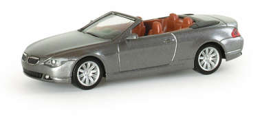 Herpa033244 BMW 6er Coupe met 1/87