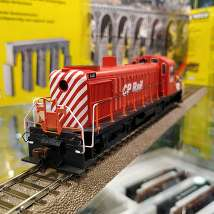 63902	ALCO RS-3 CP #8438 - Multimark Red Black & White DCC+Sound