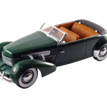 CT-68646 Машина 1937 г. Cord 812 Convertible 1/18
